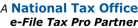 A National Tax Office e-File Tax Pro Partner